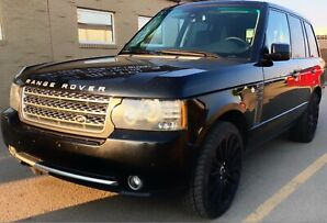 """Range Rover Supercharged with 22"""" Autobiography Rims"""