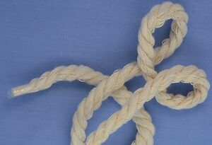 Natural Twisted Cotton Piping Cord Size 4