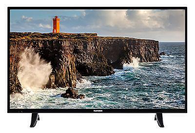Telefunken XF39D101 Fernseher 39 Zoll Full HD TV Triple-Tuner DVB-C/-T2/-S2 CI+