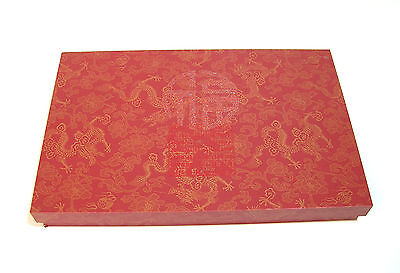 Chinese Chopsticks in Decorative Red Box, NIB