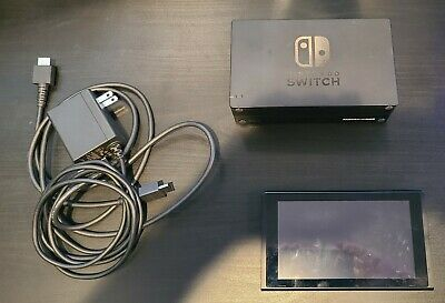 Nintendo Switch v1 HAC-001 Used with Dock and Cables