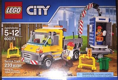 LEGO City Service Truck 60073 Construction Truck Portable Toilet Retired