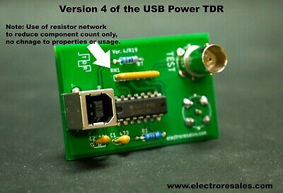Tdr Time Domain Reflectometer. Fast Clock Usb Power. Detect Cable Faults More