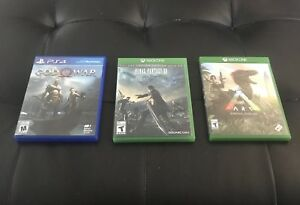 PS4/ Xbox one (Games)