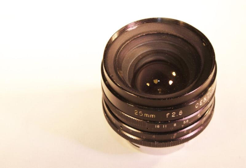 Vintage CENTURY  Cine lens Focal length 25mm  speed f/2.8