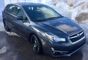 **Subaru Impreza hatchback 2016 (transfert de bail)**