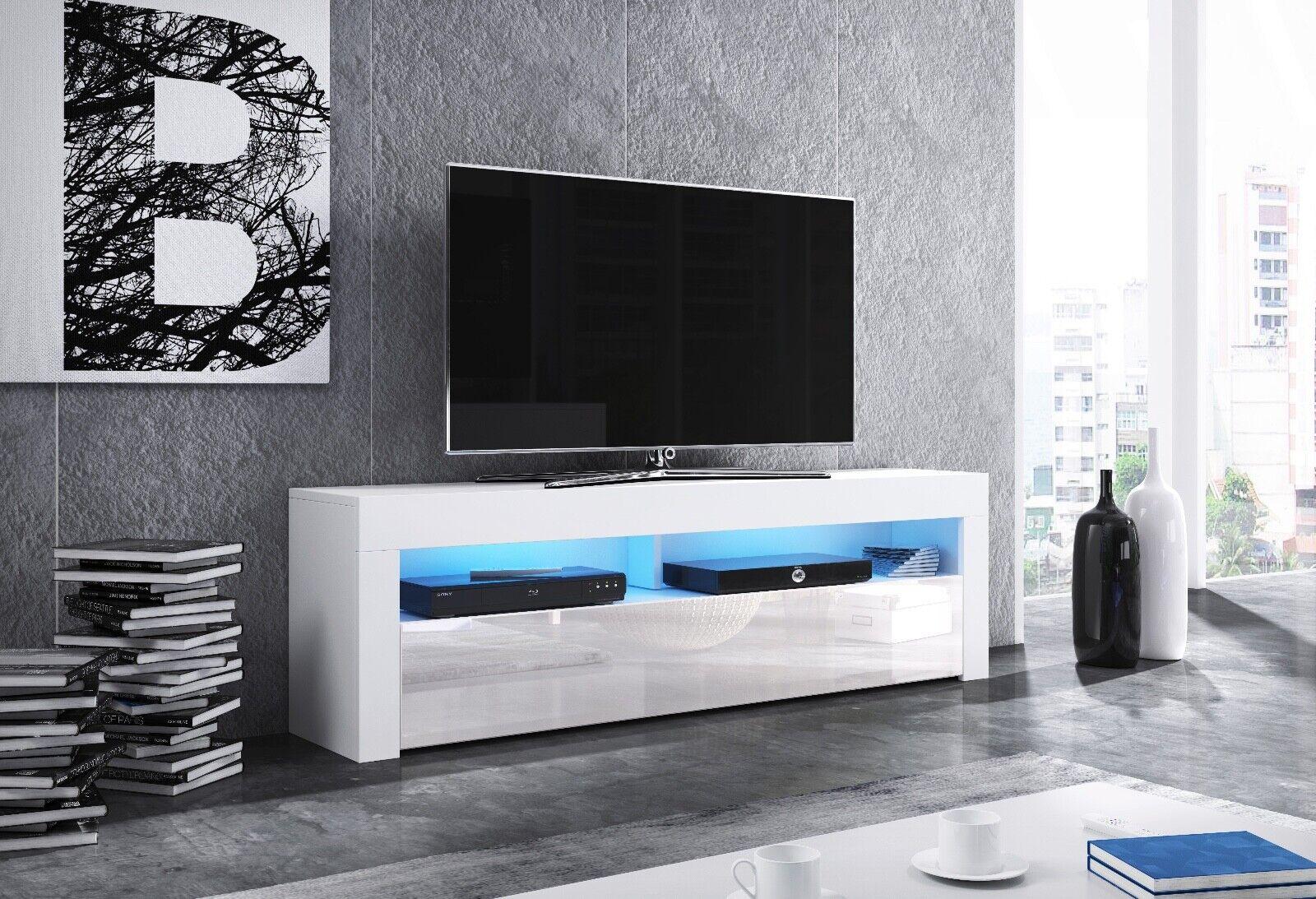 Sideboard Lowboard TV Fernsehschrank MAX 160 cm Kommode inkl LED Highboard NEU