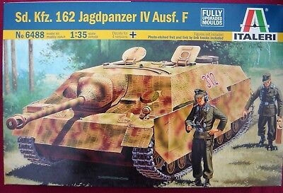 ITALERI 6488 Sd.Kfz.162 JAGDPANZER IV AUSF.F - 1:35 MODELLBAUSATZ - NEU -