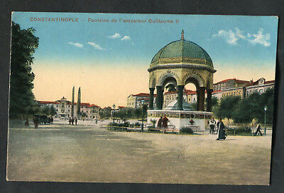 C1920s View: The Fountain of Kaiser William II, Hippodrome of Istanbul