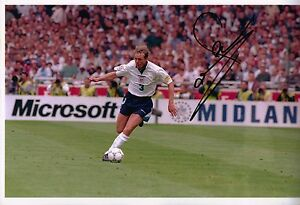 Stuart Pearce Genuine Hand Signed 12x8 Photo England (1926)