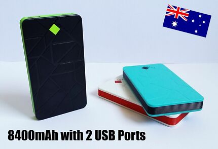 8400mAh Portable External Dual USB Port Powerbank Epping Whittlesea Area Preview