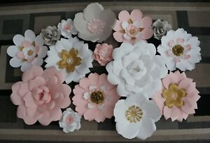 $160 for 15 giant paper flowers