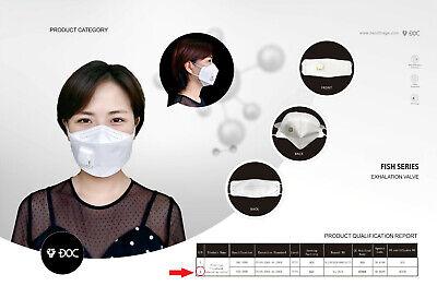 FFP3 Maske mit Ventil Atemschutzmaske VENTIL Mundschutz N98✅NEU Deutschland