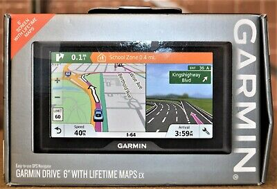"Garmin Drive 6"" LM EX GPS Navigator - NEW"