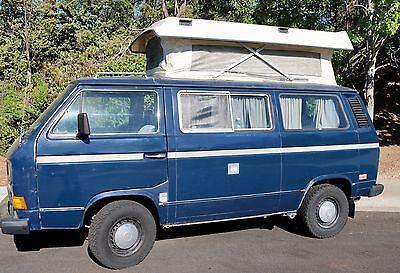 1986 Volkswagen Bus/Vanagon  1986 Volkswagen Camper Van Country Homes Edition