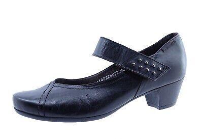 Mephisto Schuhe (Mephisto Damen Halbschuhe Ballerinas Freizeitschuhe Schwarz Echtleder Gr 37)