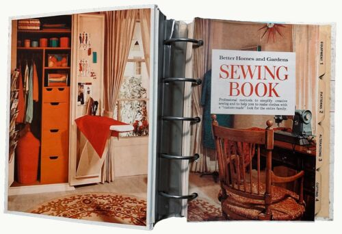 Better Homes and Gardens Sewing Book Vintage