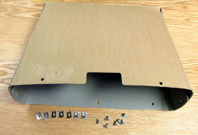 1955 56 57 58 59 CHEVY TRUCK CARDBOARD GLOVE BOX LINER with HARDWARE ** USA MADE