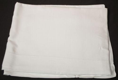 "Vintage Pure Linen Top Sheet Unused Size 101"" x 73"""