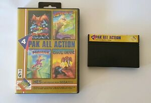 Pak All Action - Sega Master System II, 4 Game in 1!