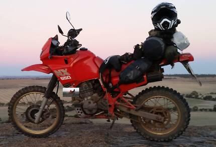 HONDA NX650 Dominator adventure bike ,xr650, Northbridge Perth City Preview