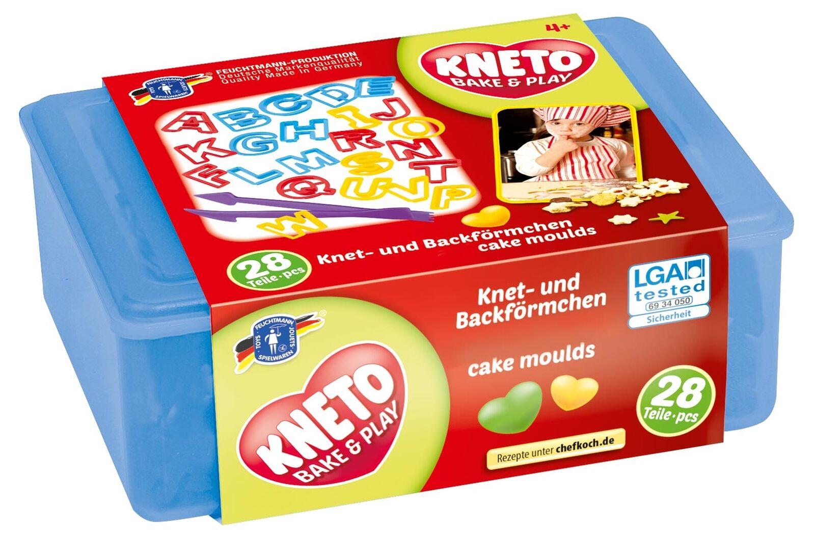 Kinder Oster-Set Feuchtmann Art Cutters OSTERN SET 4 x 80g Knete inkl Zubehör