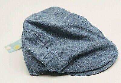Kids Newsboy Chambray Cap Comfortable Blue Hat Spring Summer NEW 2t-5t (Kids Newsboy Hat)