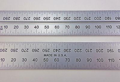 New Combination Square Blade Usa Pec 600 Mm Metric Zero Glare Fits Starrett