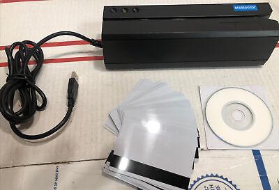 Msr605x Magnetic Stripe Card Reader Writer Encoder Credit Magstrip