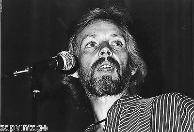 Vintage Black   White Klaus Voormann Musician Friend Of The Beatles Photo  528