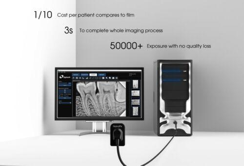 Eighteeth Dental Nano Pix Dental X Ray Digital Radio Graphic RVG Sensor Size 2