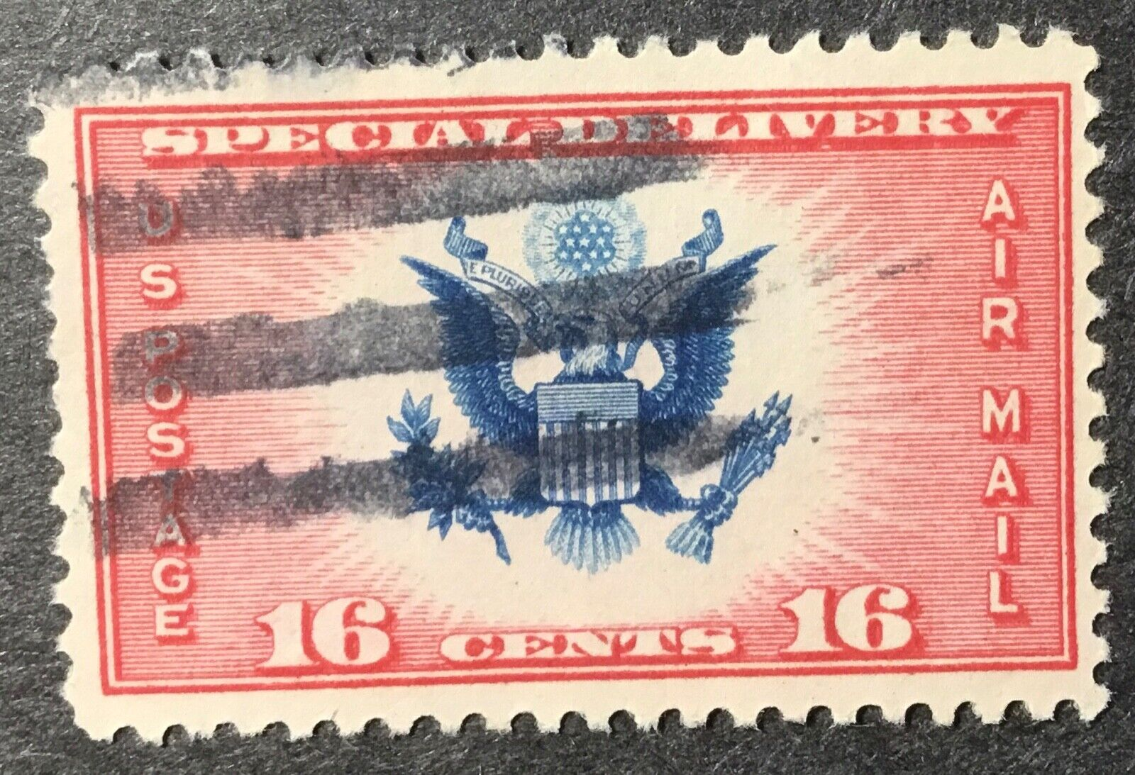 US Scott CE2 Special Delivery 16c Used. AC1456 - $0.99