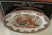 NEW Ceramic Platter for Turkey & Roast Bardwell Park Rockdale Area Preview