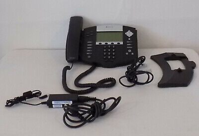 Polycom Soundpoint Ip 550 Voip Phone With Power Supply