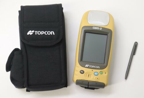 Topcon GMS-2  GNSS GPS Handheld with Stylus P/N 01-841201-01