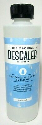 Impresa 8oz Bottle Ice Machine Descaler Newsealed Free Shipping