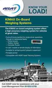 On Board Weighing Systems / Trailer Scales Welshpool Canning Area Preview