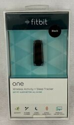 Fitbit One Wireless Activity+Sleep Tracker Get Fit Sleep Better All in One-Black