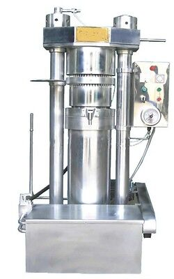 Automatic Hydraulic Oil Press Machine Peanut Olive Oil Production Shipped By Sea
