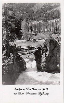 Post Card - Bridge at Similkameen Falls on Hope Princeton Highway