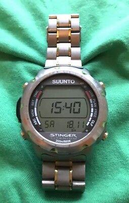 Suunto Stinger Dive Computer Dive Watch, Scuba diving and Free diving