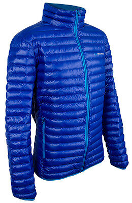 New Blue Highlander Outdoor Duck Down Jacket Unisex Outerwear All Sizes Walking ()