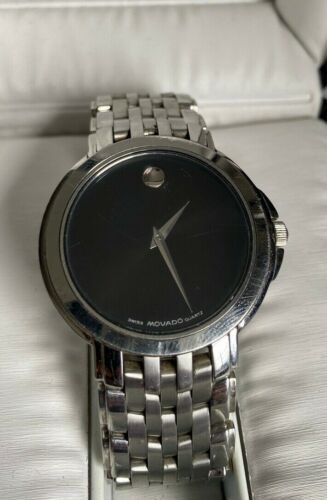 Movado Watch - Swiss Made Quartz Movement, Stainless Steel Bracelet MSRP $895+
