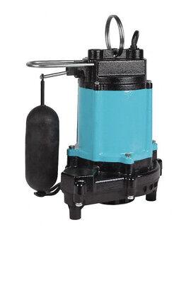 Little Giant 10ec-cia-sfs - 12 Hp Cast Iron Sump Effluent Pump W Vertical...
