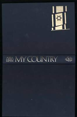 My Country by Abba Eban (1972, Hardcover)