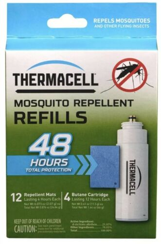 ThermaCELL RB-4 Mosquito Repellent 48-hour Refill Pack for L