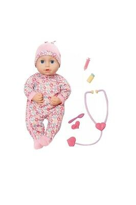 Baby Annabell Milly Feels Better Nurturing Doll