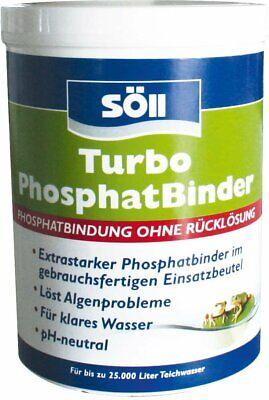 Söll Turbo Phosphate Binder, 600 G For 25.000 L, Bows Algenproblemen Front, Ke