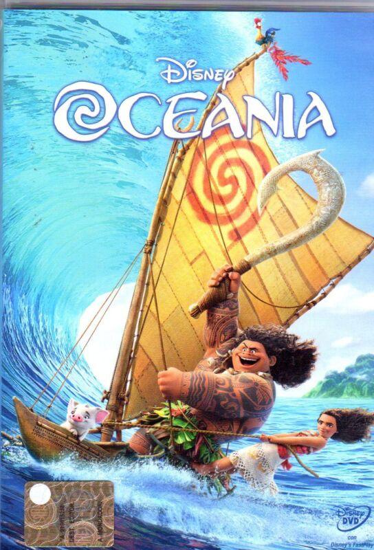 OCEANIA DISNEY DVD
