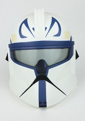 Star Wars Clone Troopers Mask Captain Rex Adult Costume Halloween Collectible - Star Wars Captain Rex Halloween Costume